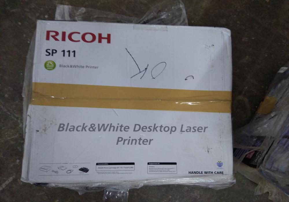 10 fully functional  ricoh sp 111 jam free monochrome laser printer    13th oct