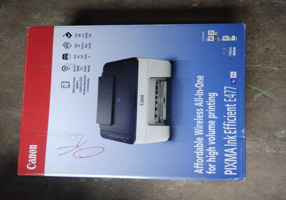 26 fully functional canon ink jet colour printer   13th oct17