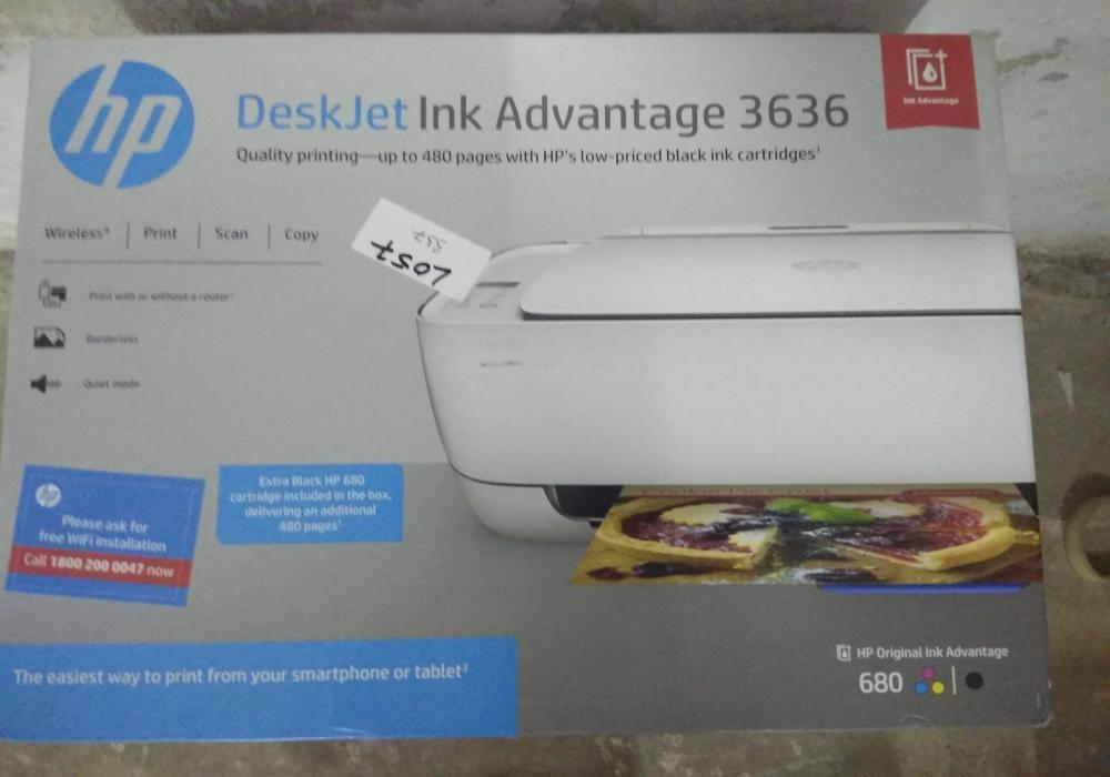 35 seal packed   hp deskjet ink advantage 3636 k4u05b all in one printer   packaging might be damaged   13th oct