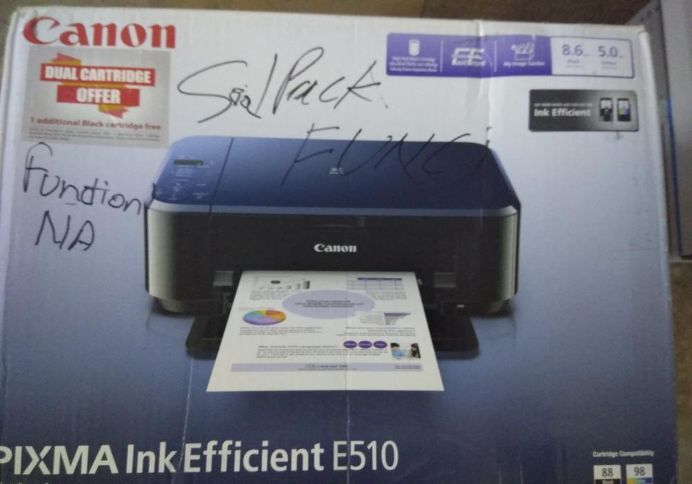 8 seal packed colour printer   4 hp   4 canon   packaging might be damaged   13th oct
