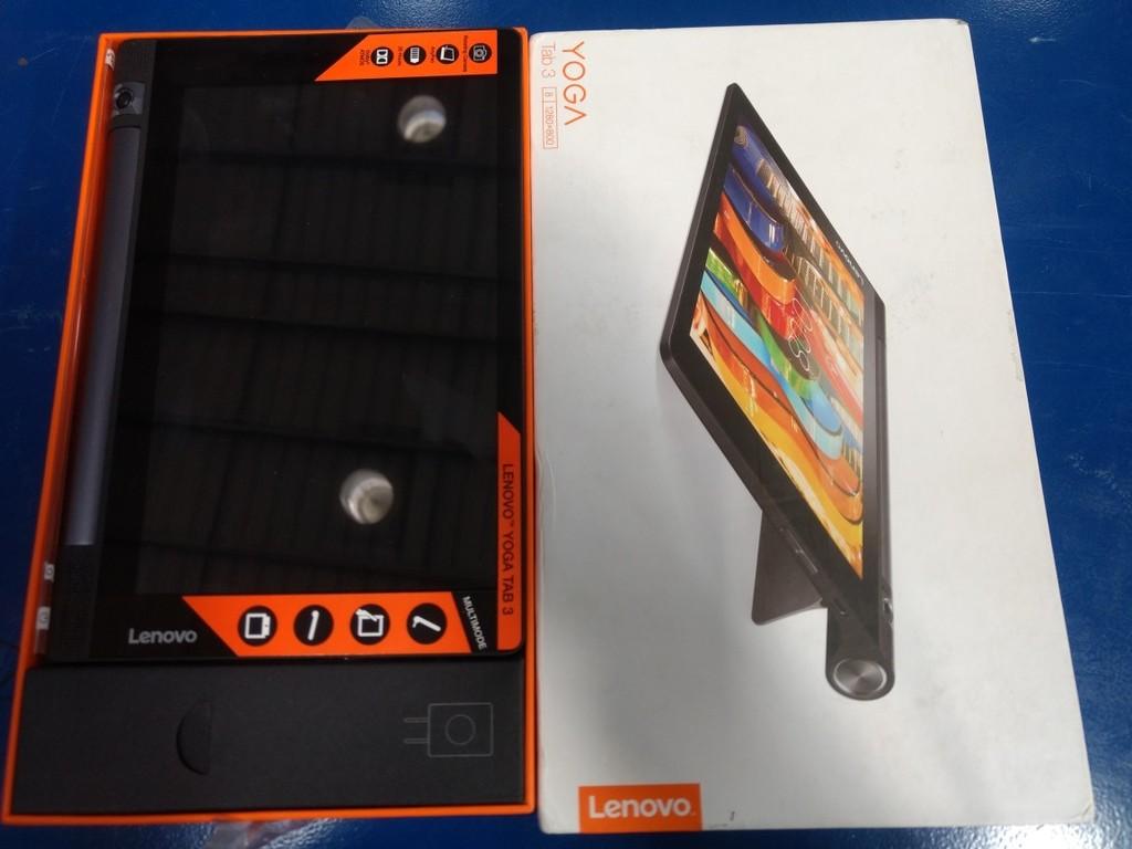 10 fully functional lenovo yoga tab 3 8 tablet %288 inch  16gb  wi fi   4g%29  slate black   6th feb