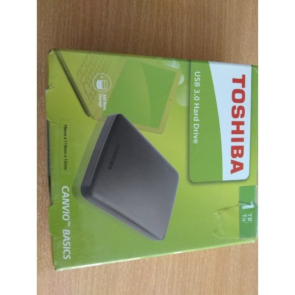 5 fully functional toshiba canvio basics 1tb usb 3.0 external hard drive  6th feb %281%29